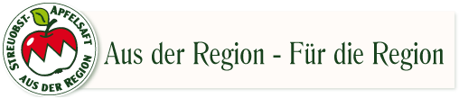 Streuobstapfelsaft aus der Region